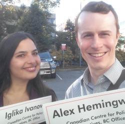 Alex Hemingway and Iglika Ivanova