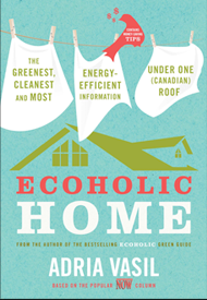 Ecoholic by Adria Vasil, book cover