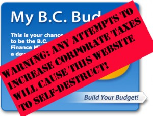 """""""My BC Budget"""" online tool"""