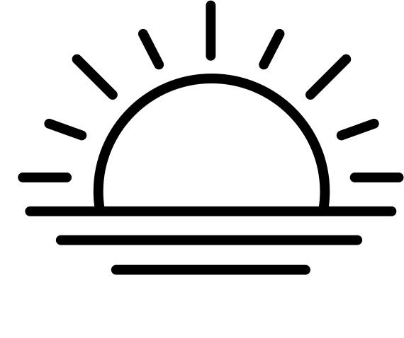 Sun icon Noun Project by Ale Estrada